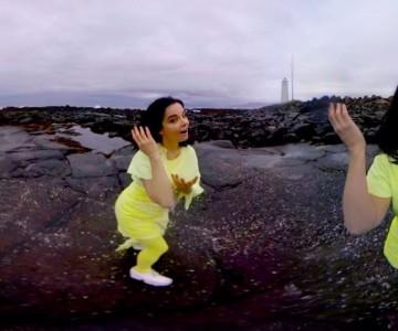 björk: stonemilker (360 degree virtual reality)